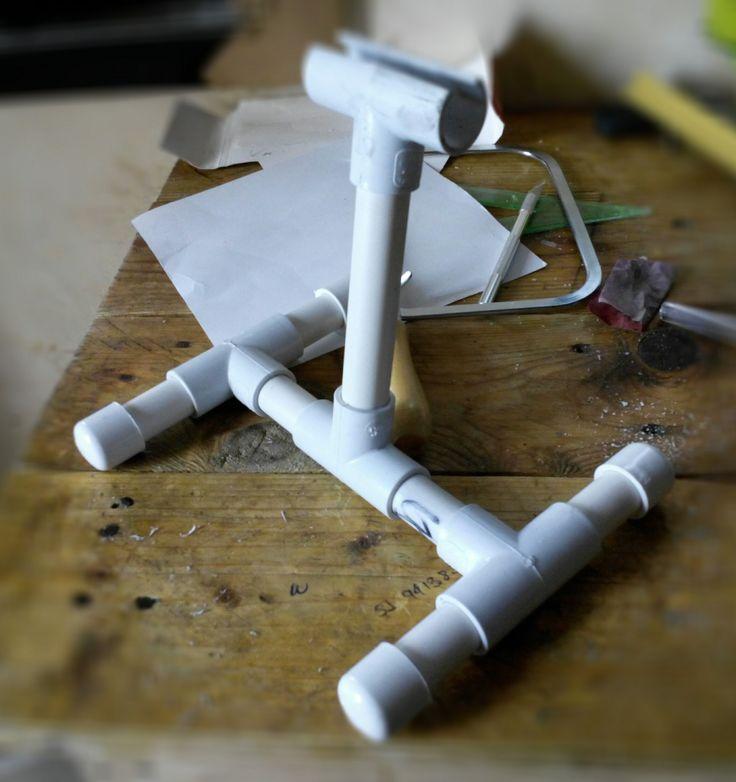Trípode para celular. Prototipo.