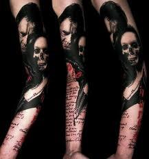 By VolkoTattoo Ideas, Trash Polka Tattoo, Tattoo Club, Good View, Sleeve Tattoo, Tattoo Artists, Body Art, Tattoo Design, Buenavista Tattoo