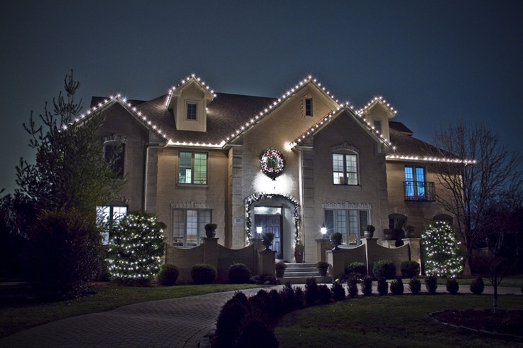 42 Best Holiday Lights On Buildings Images On Pinterest