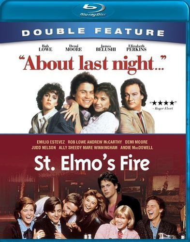 About Last Night.../St. Elmo's Fire [2 Discs] [Blu-ray]
