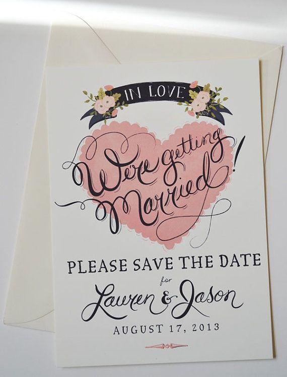 Invitaciones para boda civil: Una invitación de boda civil tan elegante como creativa