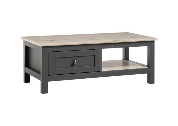 Table Basse Bocage Chene San Remo Gris Anthracite Table Basse Table De Salon Table Basse Chene