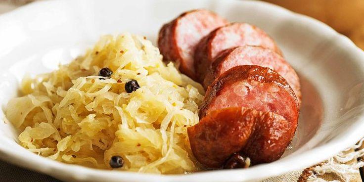 20 Minuten - Saucisson mit Honig-Senf-Sauerkraut - News