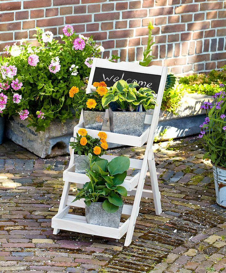 Etagère in legno | Accessori da giardino | Bakker