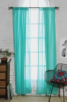 Chloe Gauze Curtain by Urban Outfitters