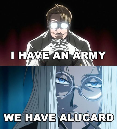 Pix For > Hellsing Ultimate Abridged Gif
