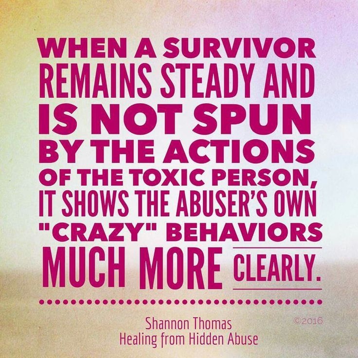 "Not immediately reacting and really seeing the abuser's behaviors brings the needed clarity to find recovery.  ""Healing from Hidden Abuse: A Journey Through the Stages of Recovery from Psychological Abuse"" is available at Barnes & Noble and on Amazon."