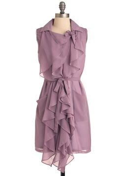 Lilac But Not Least Dress -- Pair this with anything grey, and poof! Perfect outfit.