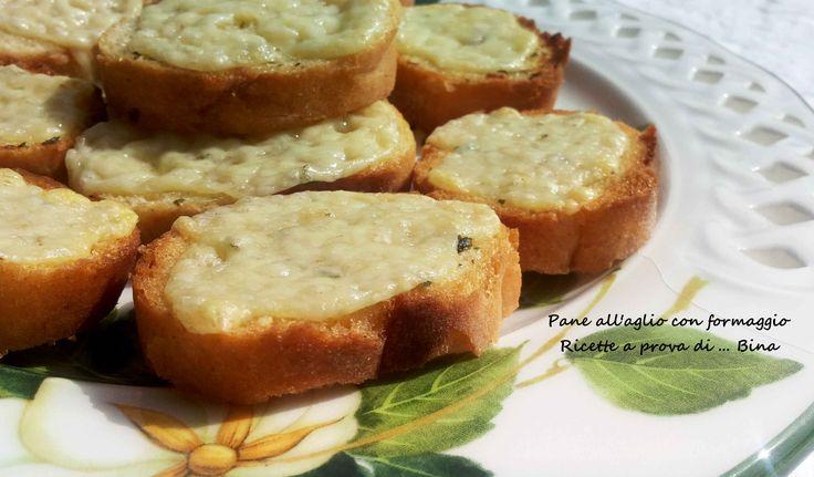 Pane all aglio - garlic bread