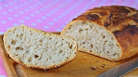 Dagasztás nélküli kenyér házilag Szeretlek Magyarország