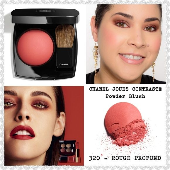 NEW🌸CHANEL JOUES CONTRASTE POWDER BLUSH | Blush makeup, Chanel makeup,  Things to sell