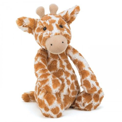 JellyCat Bashful Giraffe – Medium - Yellow Octopus