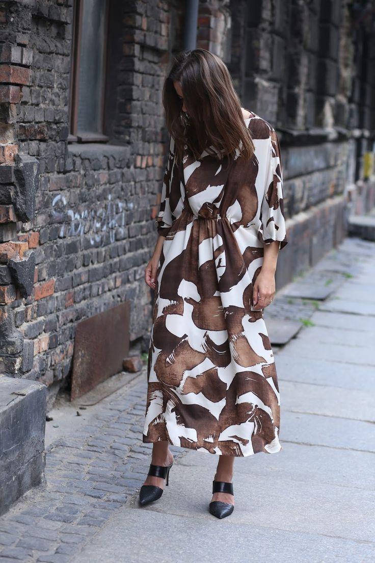PERFECT DRESS #MANGOGIRLS - AGNESA ADAMCZAK
