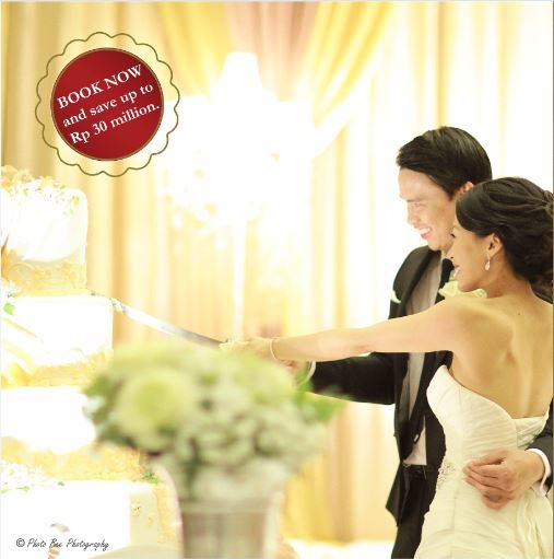 Wedding Package 2016 Welcoming the new you for a new life ahead! Share this momentous occasion with your beloved friends and family, experiencing the treasured memory of a lifetime together. start at Rp 150,000,000net/300 persons for more info please call (+62 21) 2921-5999.