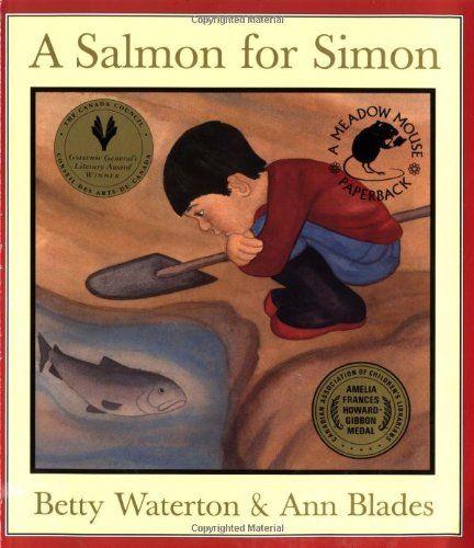 A salmon for Simon by Betty Waterton https://www.amazon.ca/dp/0888992769/ref=cm_sw_r_pi_dp_x_zwbtzb8PBQDPR