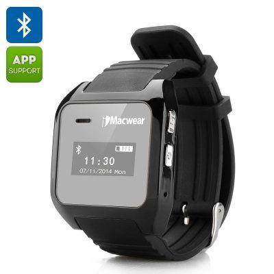 Smartwatch iMacwear bluetooth pedometru http://www.gadgetworld.ro/smartwatch-imacwear-bluetooth-pedometru.html