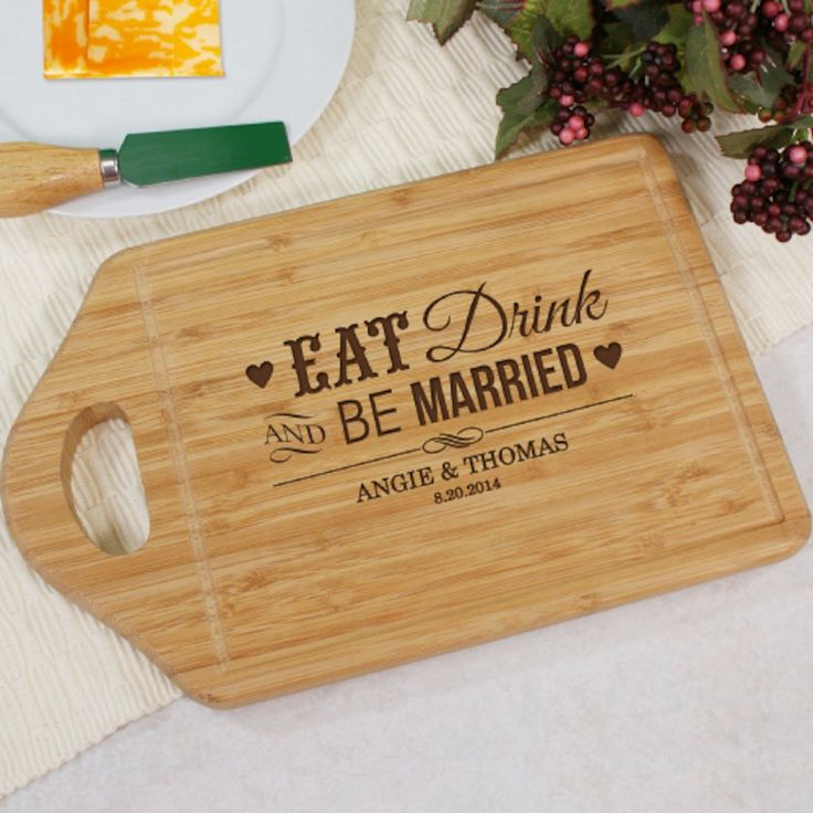 Personalized Engraved Be Married Chef Carving Board - Gifts Happen Here