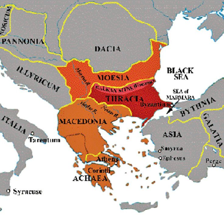 Cyprus Map Vector%0A Map of Ancient Thrace