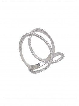Djula Joaillerie 18k Double Circle Ring