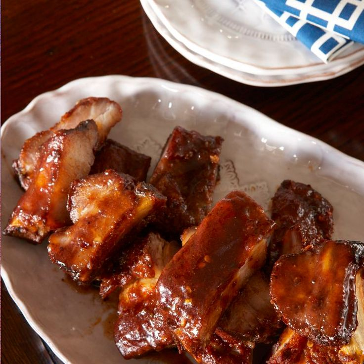 These ribs are named after Spanish snacks known as pinchos. Jason McCullar rubs them with a smoked-paprika spice blend, then lacquers them with a sher...