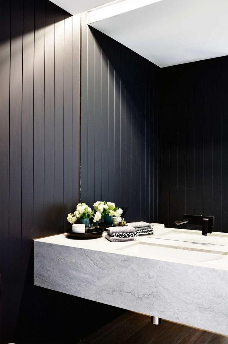 Bathroom makeover style - neutral zones
