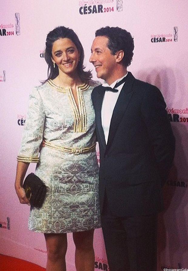 Guillaume Gallienne, grand vainqueur des César 2014, et sa femme Amandine