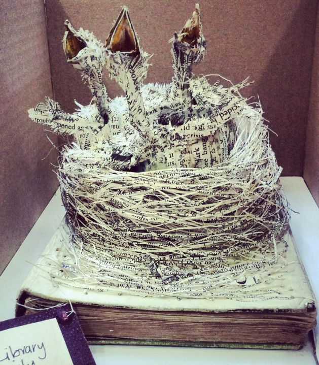 Mystery book sculptures still sprouting across Scotland