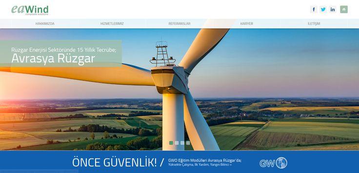 Avrasya Rüzgar websitesi ajansweb imzası ile mobil uyumlu olarak yenilendi! www.eawind.com