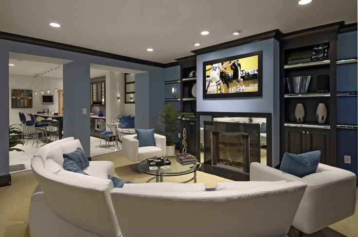 Basement Entertainment Room Future Home Pinterest