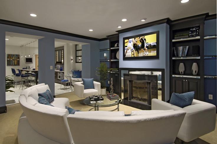 Basement Entertainment Room Future Home Pinterest