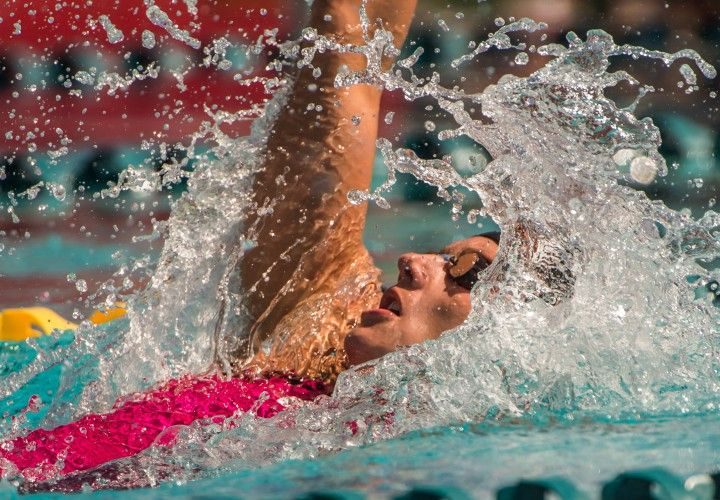 Katinka Hosszu Collects 100 Back Crown, Kirsty Coventry 2nd - Swimming World News