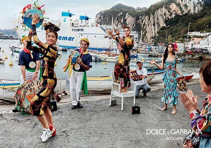 Dolce & Gabbana Spring/ Summer 2017 Ad Campaign