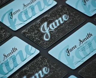 42 best uv spot images on pinterest graphics business cards and 16pt silk business card w spot uv rounded edges by we the printers reheart Images