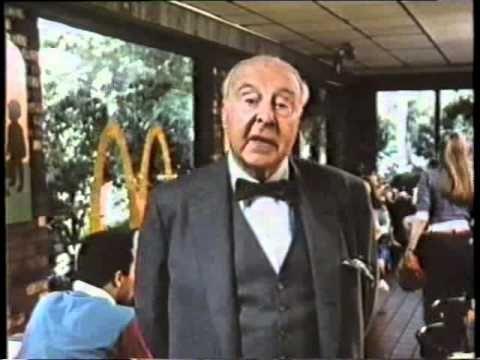 John Houseman 1983 McDonald's Commercial