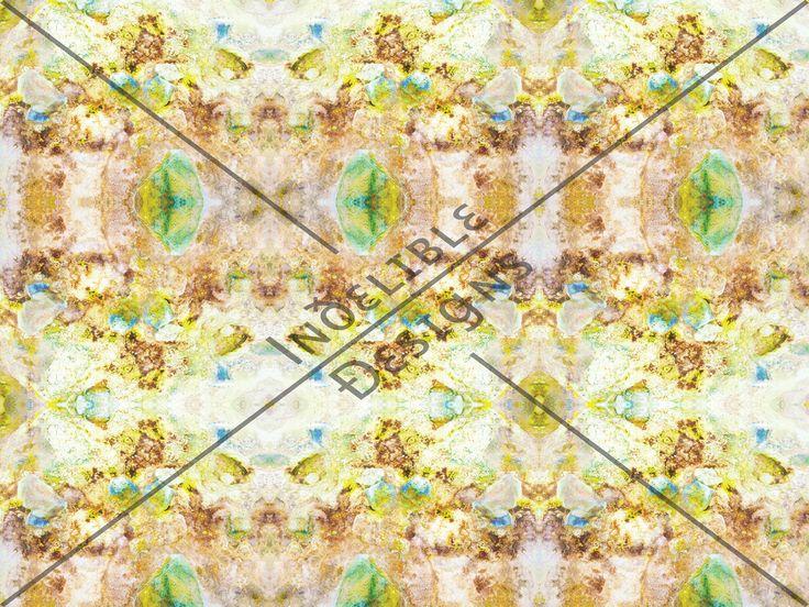 ID#50CE — Iɴðɛʟɪʙʟɛ Ðɛsɪǥɴs #digitalprint #printdesign #textiledesign #textileprint #layer #reflective #texture #green #yellow #pink #natural #neutral #blue #lime #brown #white #mustard #stone