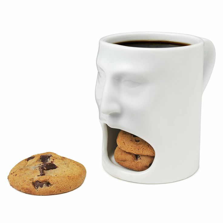 cookie mugFace, Ideas, Cookies Cups, Stuff, Coffe Cups, Coffee Cups, Things, Products, Mugs