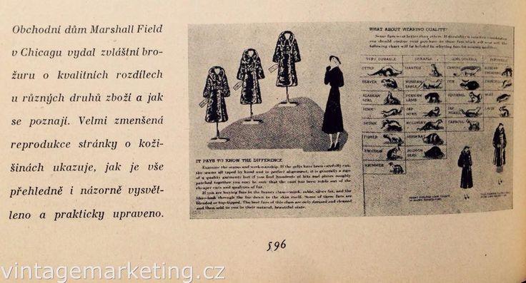 Obsahová brožura Marshall Field Chicago cca 1936. http://ift.tt/2eqhiFh #vintagemarketing