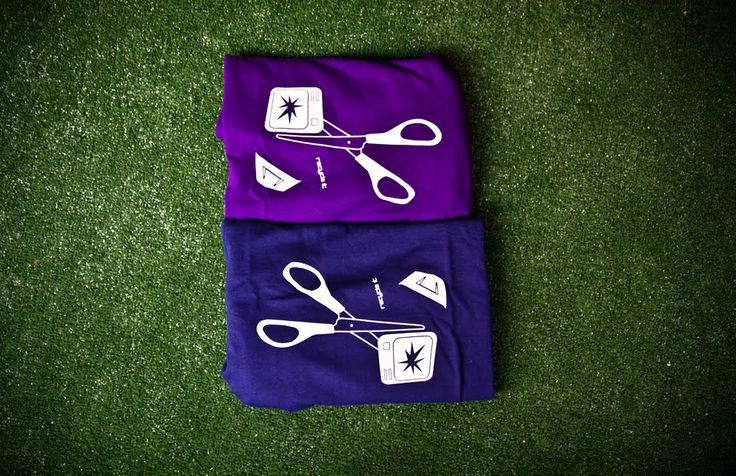 Logo scissor #recycleit #tshirt