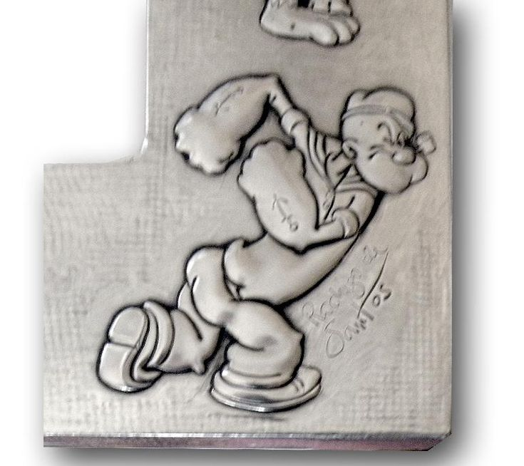 POPEYE.    It is not a drawing, it is not a drawing or a painting... it is simply a metalwork.