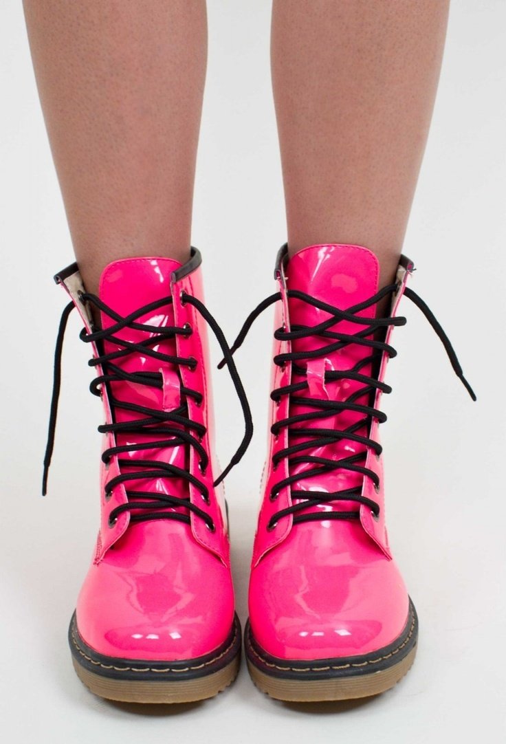 17 Best ideas about Pink Doc Martens on Pinterest | Pink boots ...