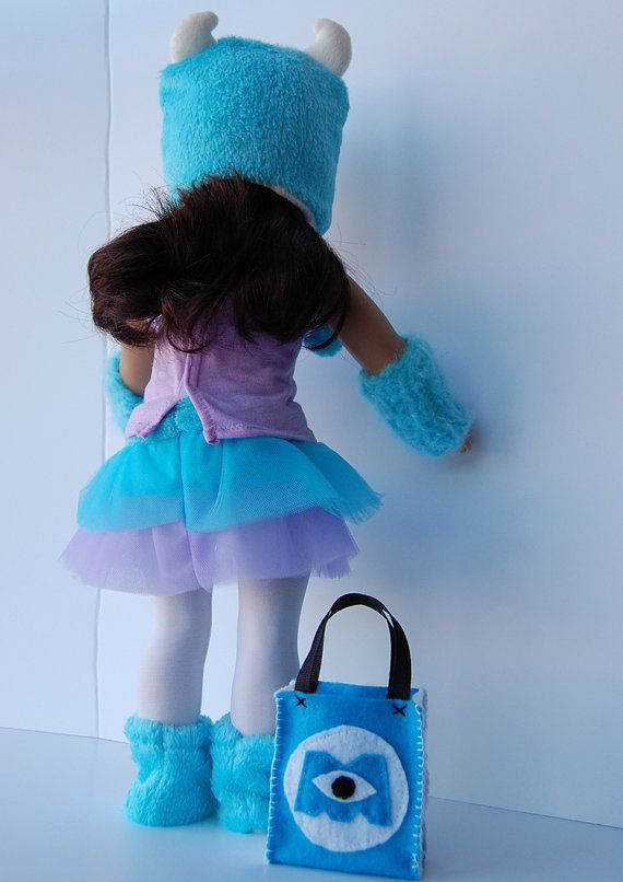 Halloween Costume SULLY MONSTERS INC by BellaandHoot on Etsy