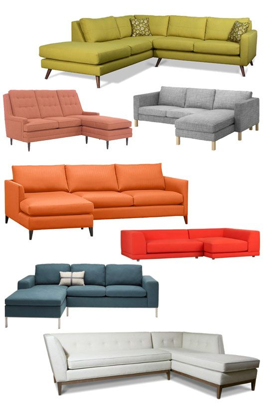 7 Sectionals for a Happy Modern Look Decor Style Source List