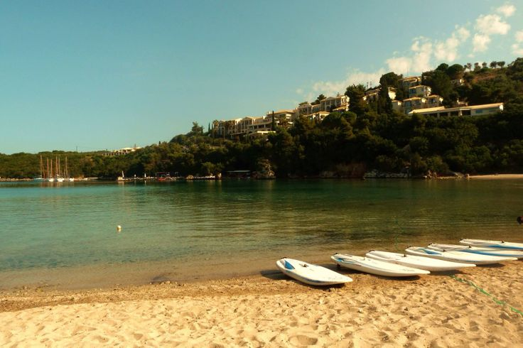 A sunny day in  Sivota , Greece
