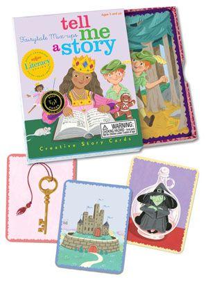 Carte e giochi da tavolo per inventare fiabe, favole e racconti - Tell Me a Story - Fairytale Mix-Up - eeBoo