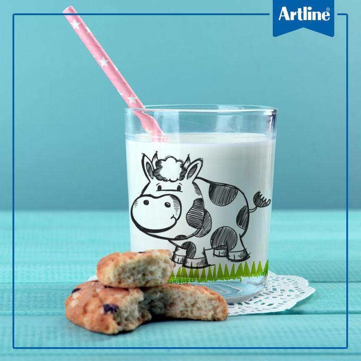 Tener un vaso único ahora es posible, con un frasco vacío, nuestro marcador EK-700 y tu creatividad, ¡estará listo!