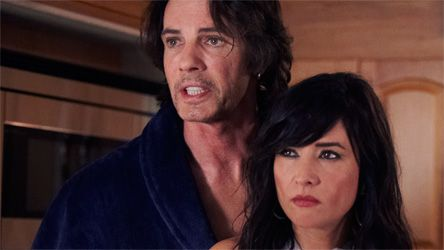 Rick Springfield & Pamela Adlon (Californication)