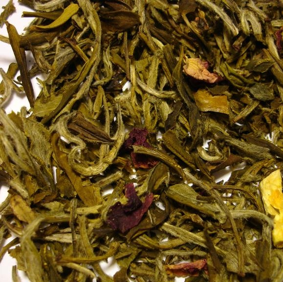 White Ambrosia smells like a holiday in a cup.  This tea and a good book is all you need.