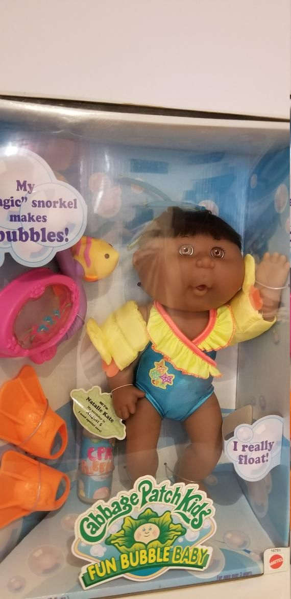 African American Cabbage Patch Doll Bubble Kids Etsy Cabbage Patch Dolls Cabbage Patch Kids Cabbage Patch