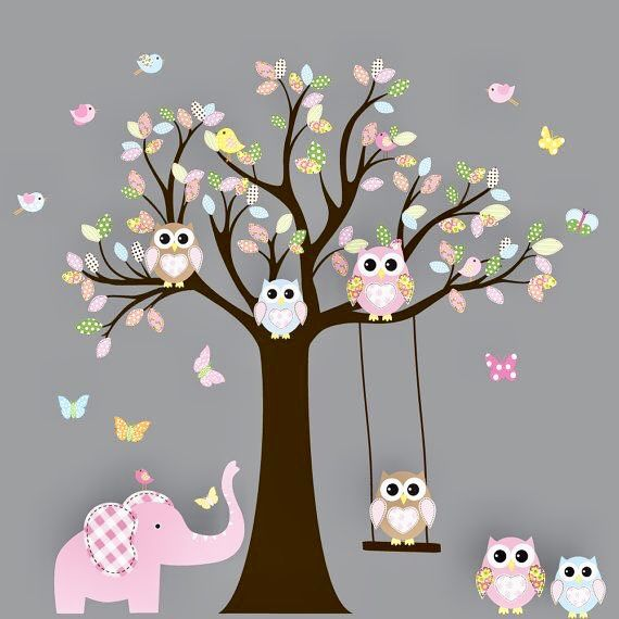 Pin by Cindy Jones on Owl Artwork, Clipart & Gifts | Tree ...