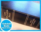 NIV Life Application Study BIBLE  Black GENUINE Leather 1984 Text D